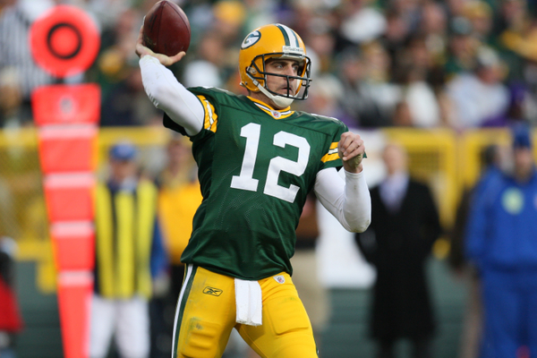Rodgers Played In Just Seven Games Over His First Three Professional Seasons Green Bay Backing Up Brett Favre Threw For 329 Yards